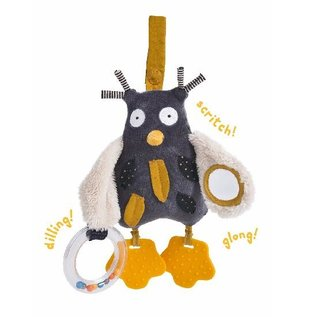 Moulin Roty Fun & Engaging Sensory Activity Owl by Moulin Roty