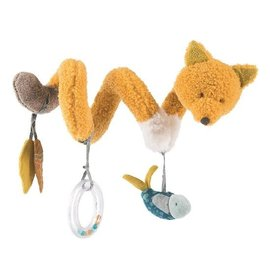 Moulin Roty Soft Fox Activity Spiral by Moulin Roty