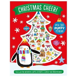Make Believe Ideas Christmas Cheer Puffy Sticker Activity Book
