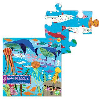Eeboo Ocean Treasure 64-Piece Puzzle by Eeboo