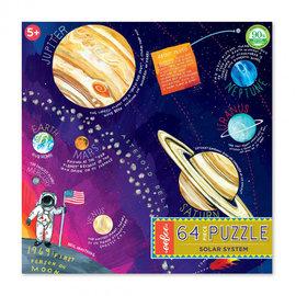 Eeboo Solar System 64-Piece Puzzle by Eeboo