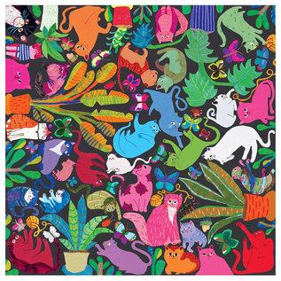 Eeboo Cats at Work 1000 Piece Puzzle