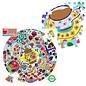 Eeboo Tea Party 500 Piece Round Puzzle