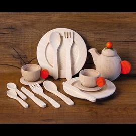 Erzi Wooden Crockery Set by Erzi