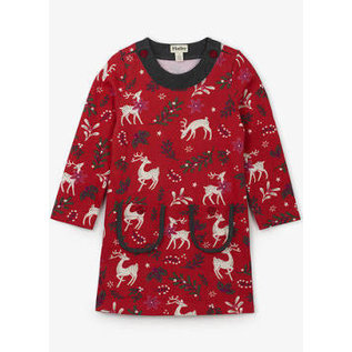 Hatley Mistletoe Deer Mod Dress by Hatley