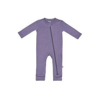 Kyte Baby Orchid Colour Zippered Bamboo Romper by Kyte Baby