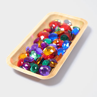 Grimms Small Acrylic Glitter Stones by Grimms