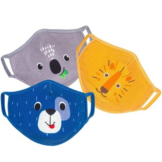 Zoocchini Organic Reusable Children's Cloth Face Masks 3-Pack (3+) by Zoocchini