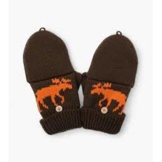 Hatley Winter Moose Finger Flip Mittens