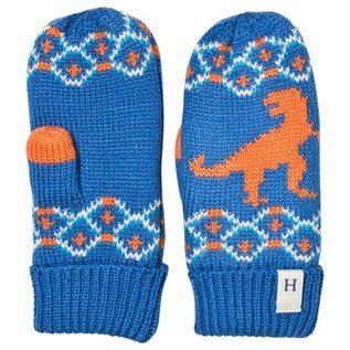 Hatley Winter T-Rex Fleece Lined Mittens