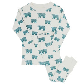 Parade Blue Bears Organic Cotton PJ by Parade
