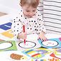 Banana Panda Kids Academy Animals 2 Piece Puzzle Sets & Colouring Books (18 Months+)