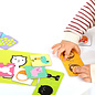 Banana Panda Kids Academy Opposite 2 Piece Puzzles & Colouring Books (Ages 2+)