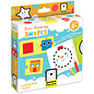 Banana Panda Kids Academy Shapes 2 Piece Puzzles & Colouring Books (Ages 2+)