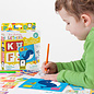 Banana Panda Kids Academy Letters 2 Piece Puzzles & Colouring Books (Ages 2+)