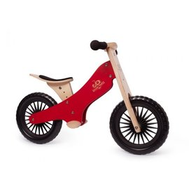 Kinderfeets Cherry Red Classic Balance Bike by Kinderfeets