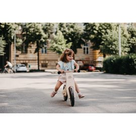 Kinderfeets Natural Wood Classic Balance Bike by Kinderfeets