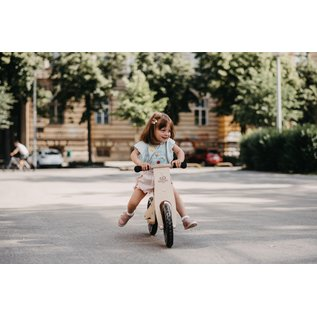 Kinderfeets Natural Wood Classic Balance Bike by Kinderfeets