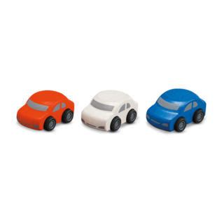 Plan Toys Family Cars Set of 3 by Plan Toys