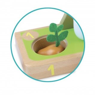 Vilac I Learn - Counting Vegetables Wooden Toy