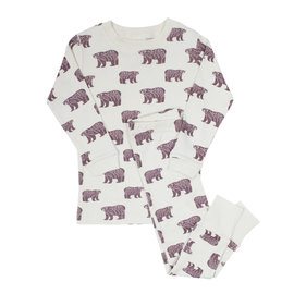 Parade Plum Bears Organic Cotton PJ by Parade
