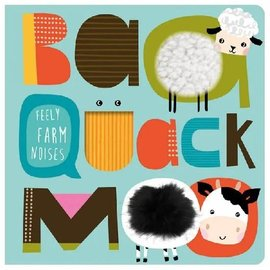Make Believe Ideas BAA Quack Moo Tactile Board Book
