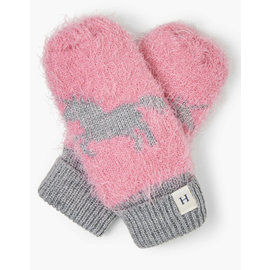 Hatley Shimmer Unicorn Fleece Lined Mittens