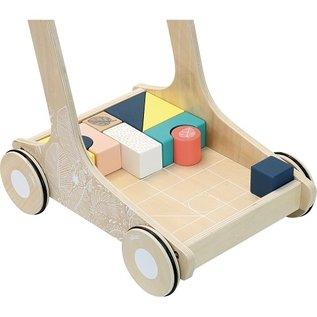 Vilac Wooden Block Cart by Vilac