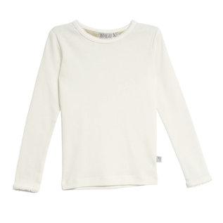 WHEAT KIDS Eggshell Colour Long Sleeve Basic Shirt by Wheat