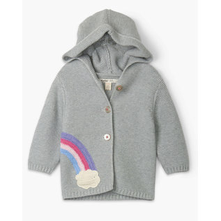 Hatley Shimmer Grey with Rainbow Sweater