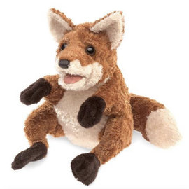 Folkmanis Puppets Crafty Fox Hand Puppet