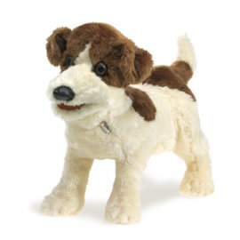 Folkmanis Puppets Jack Russell Terrier Hand Puppet