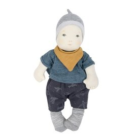 Moulin Roty Baby Boy Soft Doll by Moulin Roty