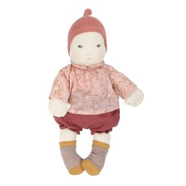 Moulin Roty Baby Girl Soft Doll by Moulin Roty