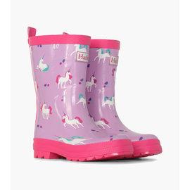 Hatley Playful Unicorn Print Rain Boots by Hatley