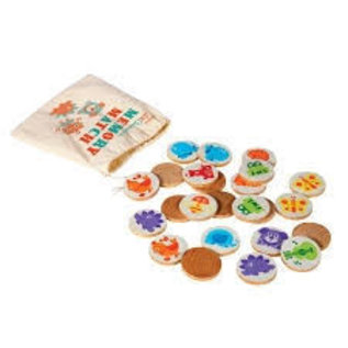 Schylling Wooden Memory Match Game
