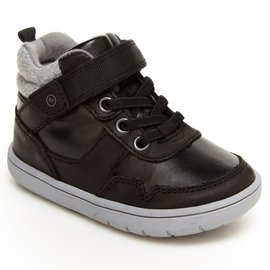 Stride Rite Ryker Style Black High Top Shoe by Stride Rite