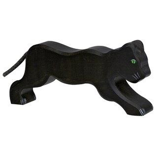 Holztiger Wooden Animal Figures ~ Panther ~ by Holztiger