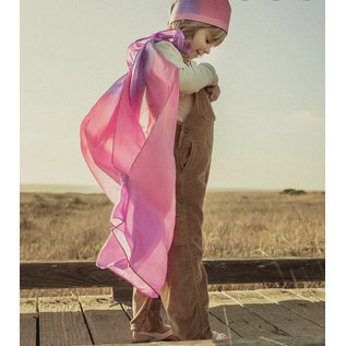 Blossom Colour Silk Dress Up Cape by Sarah's Silks