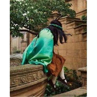 Sarah's Silks Forest Colour Silk Dress Up Cape by Sarah's Silks