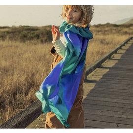 Sarah's Silks Ocean Colour Silk Dress Up Cape by Sarah's Silks