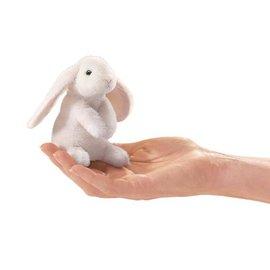 Folkmanis Puppets Mini Lop Ear Rabbit Finger Puppet by Folkmanis