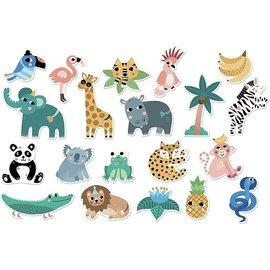 Vilac Jungle Theme Magnets by Vilac