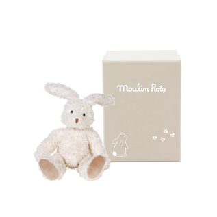 Moulin Roty Cuddly Soft Rabbit Toy (20cm) by Moulin Roty