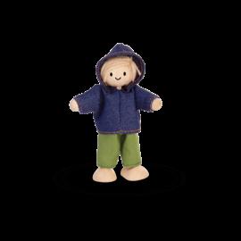 Plan Toys Boy Doll by Plan Toys (Dollhouse Size)