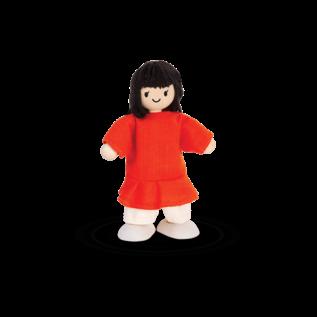 Plan Toys Girl Doll by Plan Toys (Dollhouse Size)
