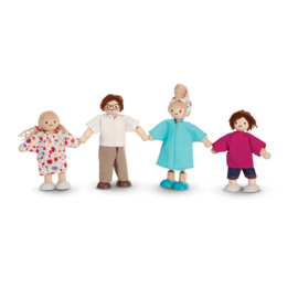 Plan Toys Doll Family (Modern) by Plan Toys