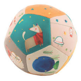 Moulin Roty Les Zig Zag Theme Soft Ball by Moulin Roty