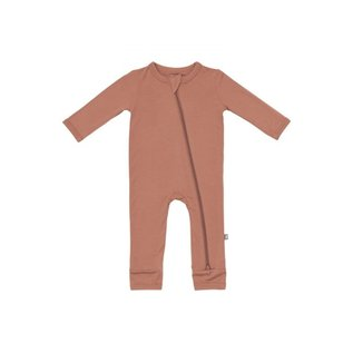 Kyte Baby Spice Colour Zippered Bamboo Romper by Kyte Baby