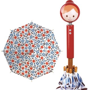Vilac Red Riding Hood Wooden Handle Umbrella (Made in France)